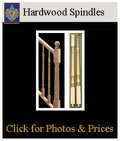 click for Wood Balusters